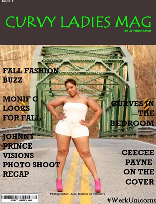 Curvy Ladies Mag / Issue 1