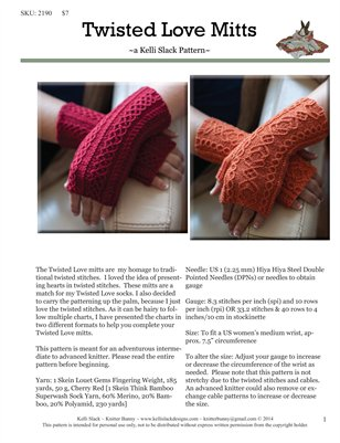 Twisted Love Mitts