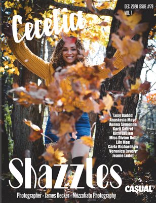 Shazzles Casual Issue #79 VOL1 Cover Model Cecelia