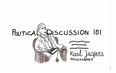SketchZine Political Discussion -  the vision of Karl Jaspers