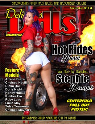 Delicious Dolls September 2018 Hot Rides Stephie Danger