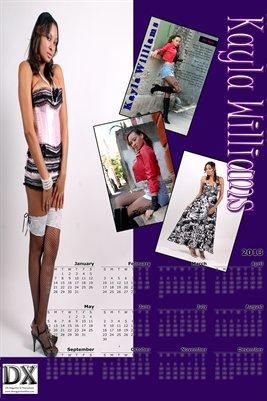 Kayla Calendar Poster