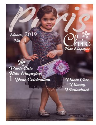 Paris Chic kids magazine March 7