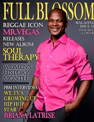 Full Blossom Magazine Issue 31 Mr. Vegas Cover