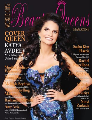 World Class Beauty Queens Magazine with Katya Avdeev Mrs. Maryland United States 2017