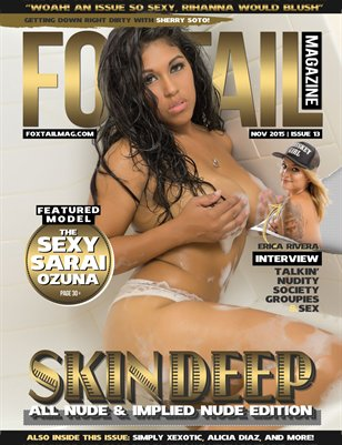 FOXTAIL Magazine Issue #13 | Sarai Ozuna Cover