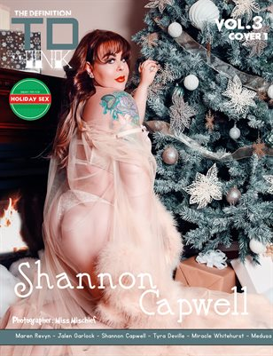 TDM Ink Shannon Capwell Xmas vol3 cover 1