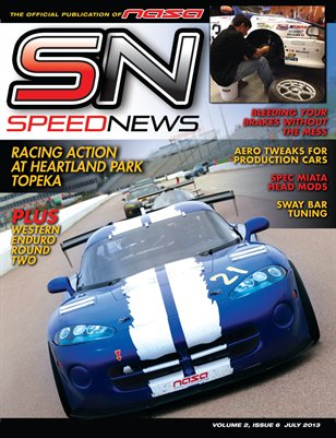 Speed News Magazine July 2013