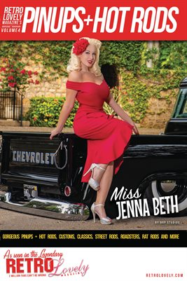 Pinups + Hotrods Volume 4 – Miss Jenna Beth Cover Poster