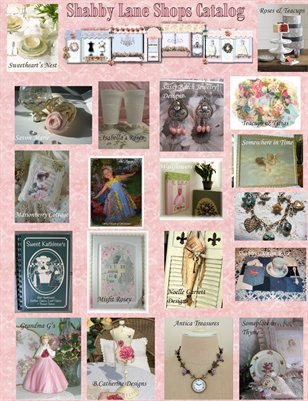 Shabby Lane Shops Phone Order Catalog - Fall