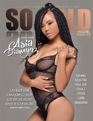 SO KOLD MAGAZINE 14 (AUGUST 2019 - ASIA DIAMYNZ)