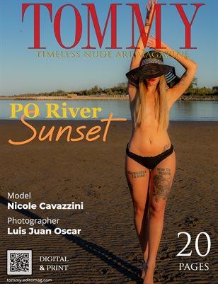 Nicole Cavazzini - Po River Sunset