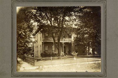 W.A. Usher's Home in Mayfield, Kentucky2