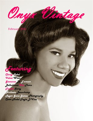 Onyx Vintage Magazine Issue 1 (Feb 2016)