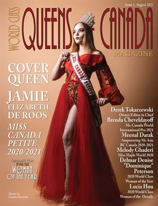 World Class Queens of Canada Magazine, Issue 1, Jamie de Roos