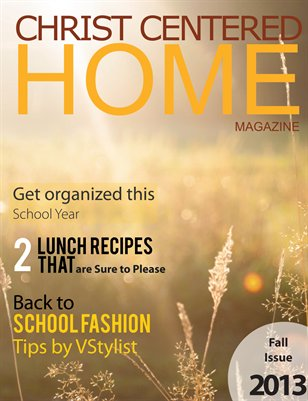 Christ Centered Home Magazine Fall