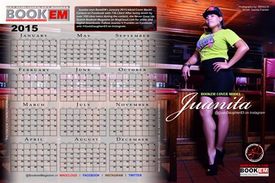 Juanita Franklin 2015 Calendar 1