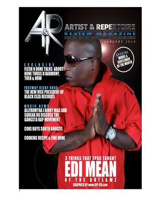 A&R Review Magazine Urban Edition January 2014