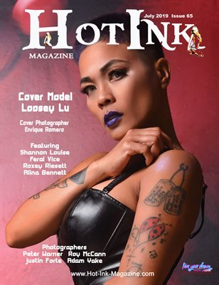 HOT INK MAGAZINE - Cover Model Loosey Lu - July 2019