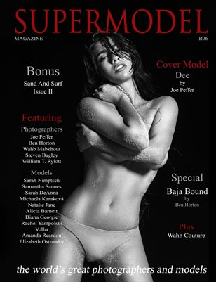 Supermodel Magazine Sand and Surf Bonus Issue II B06