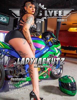 FASS LYFE MAGAZINE  ISSUE 1 LADYJAEKUTZ
