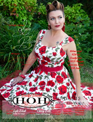 Hell on Heels Magazine June 2015 Issue #10 Beautiful Blossoms VOL.1