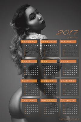 Amour Lilian 2017 Calendar