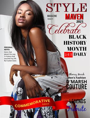 STYLE MAVEN MAGAZINE ISSUE 8 BLACK HISTORY EDITION