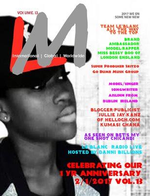 Le'Blanc Music Mag Vol 13-Jullie