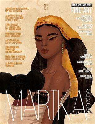 MARIKA MAGAZINE FINE-ART (ISSUE 926 - MAY)