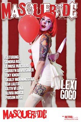Masquerade No.1 – Lexi GoGo Cover Poster