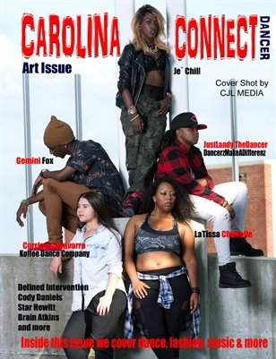 Carolina Connect Art Issue Dancer Cover