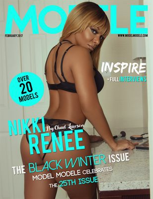 Model Modele Presents Black Winter Inspire (Nikki)