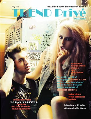 Trend Prive Magazine Book2 Debut Issue