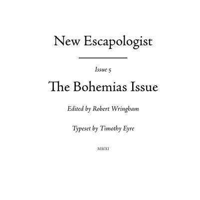 New Escapologist Issue Five