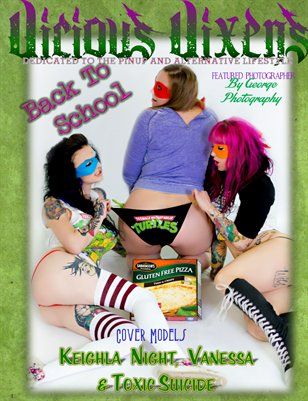 Vicious Vixens Issue # 9 BACK TO SCHOOL