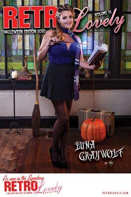 Luna Graywolf Cover Poster