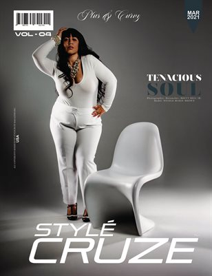 MARCH 2021 Issue (Vol: 04) | STYLÉCRUZE - PLUS & CURVY