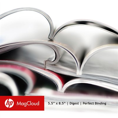 "5.5"" x 8.5"" Digest with Perfect Binding (InDesign)"