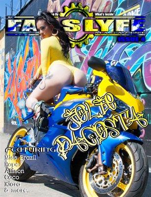 FASSLYFE MAGAZINE ISSUE 4 JOLIE DACOSTA