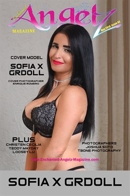 ENCHANTED ANGELZ MAGAZINE COVER POSTER - Cover Model Sofia X Grdoll - May 2019