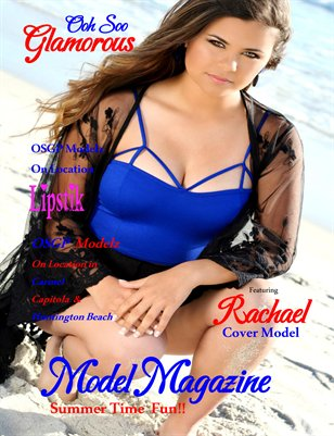Ooh Soo Glamorous Model Magazine Summer Fun Edition