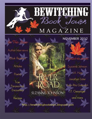 Bewitching Book Tour Magazine November 2012