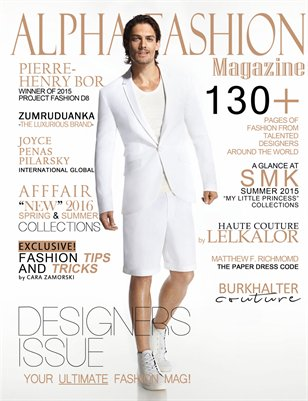 Designers Issue  Volume.10 Issue#11- (Afffair) Cover