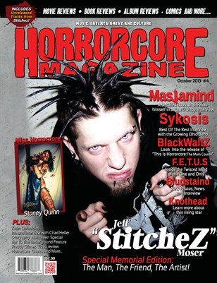 Horrorcore Magazine -  Issue 4 - Stitchez Edition