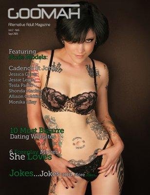 Goomah Magazine - Sept 2013 - Cover 2