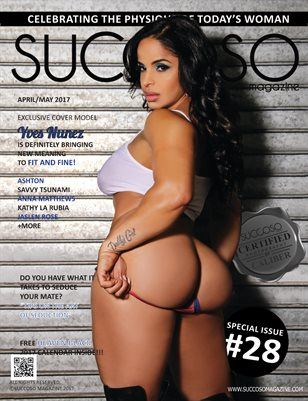 Succoso Magazine Issue #28 featuring Cover Model Yves Nunez