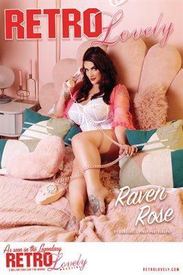 Retro Lovely No.168 – Raven Rose Cover Poster