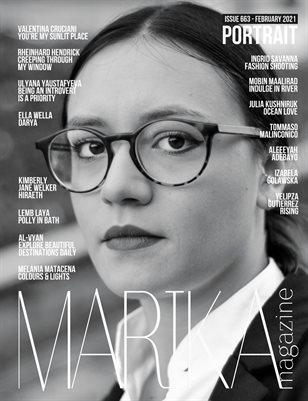 MARIKA MAGAZINE PORTRAIT (ISSUE 663 - February)