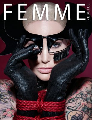 Femme Rebelle Magazine MAY 2017 - BOOK 2 Tristan Peter Cover